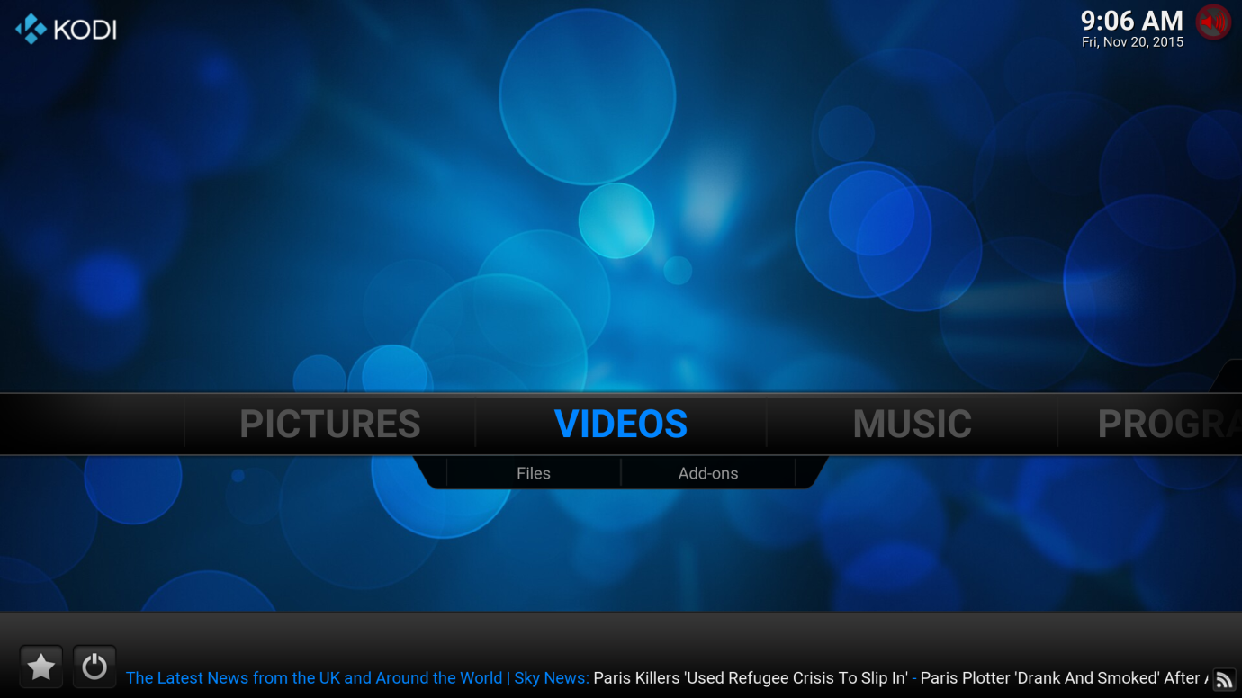 RSS news feeds on Kodi - How to customize - Best for Kodi