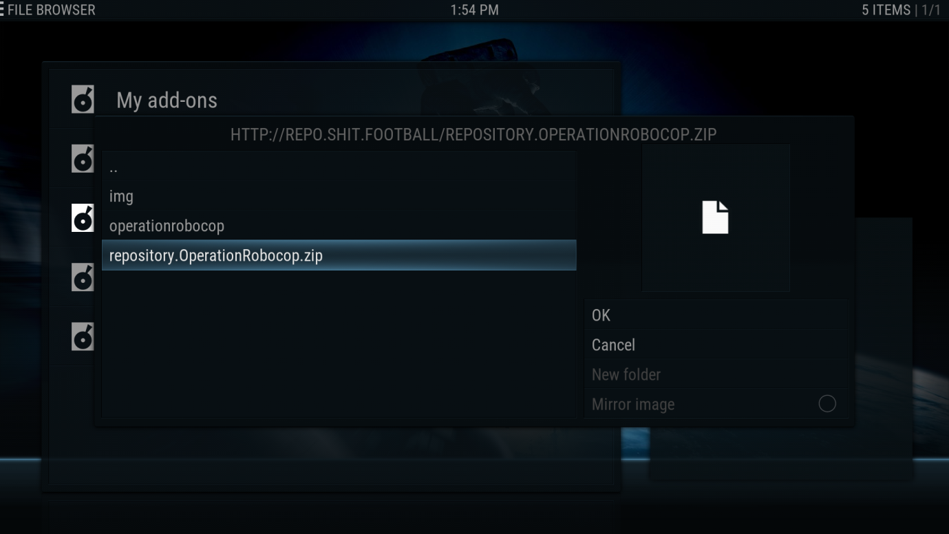 Creating your Own Kodi build Part Five