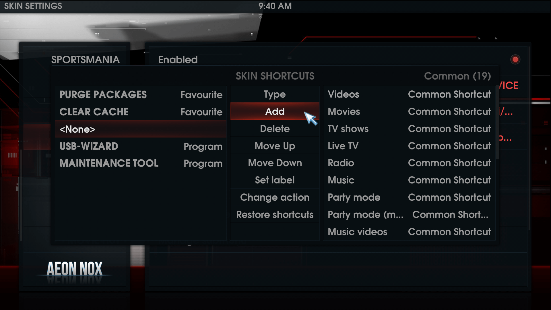 Add Android Apps to Kodi
