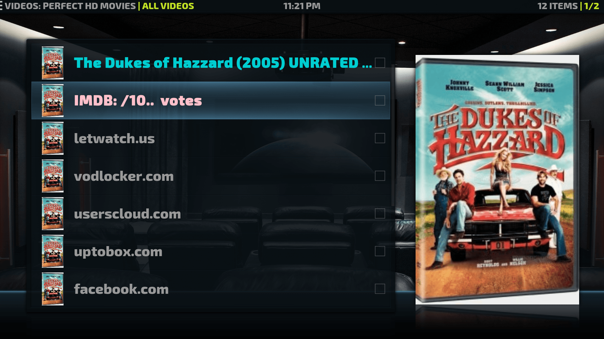 Install Perfect HD Movies addon Kodi