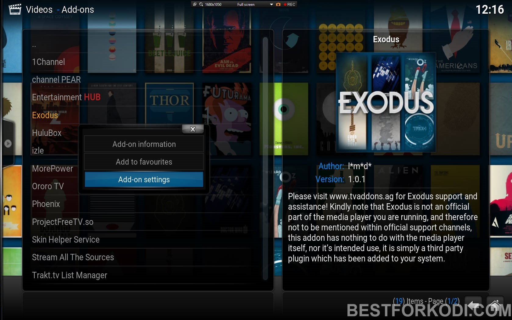 Using Kodi with Slower Internet Connection