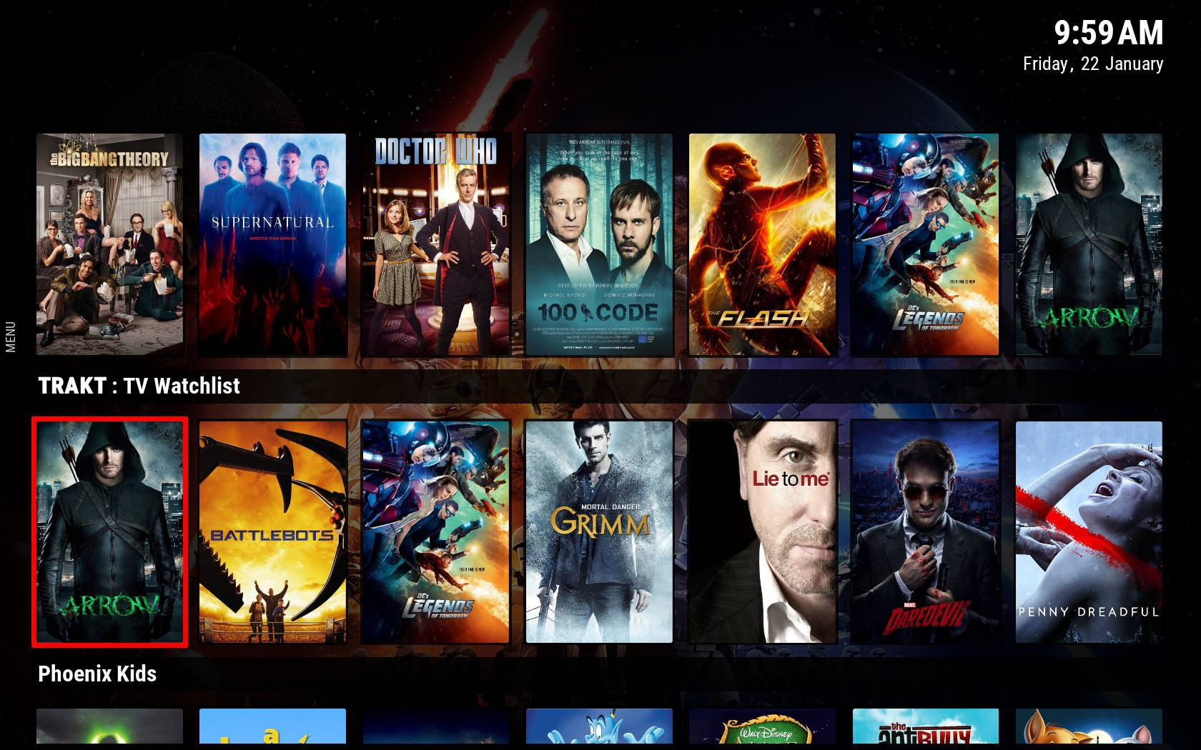 Kodi Builds That Show My Own Content