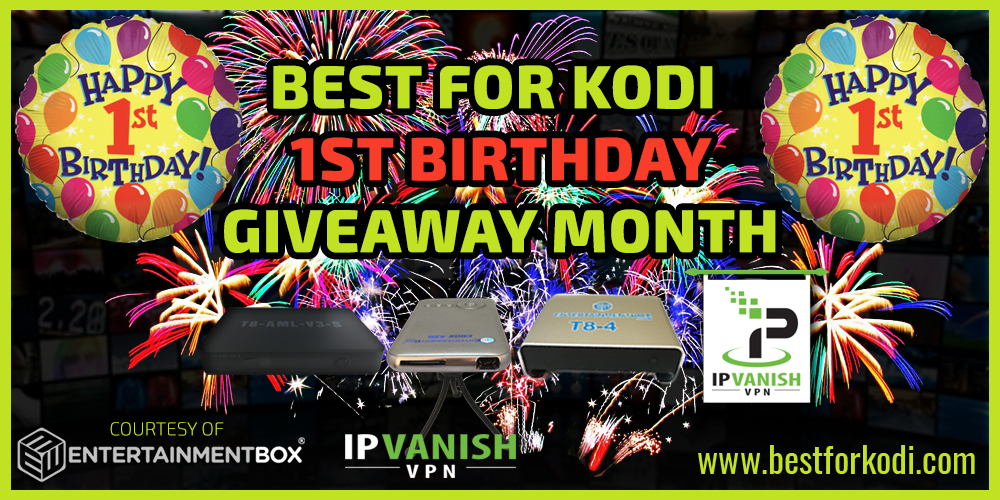 BFK 1st Birthday Celebration - Massive Month Giveaway
