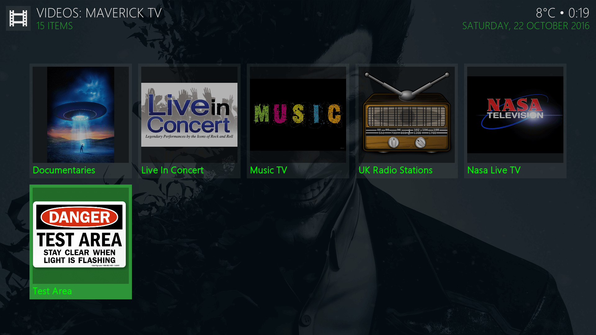 Guide Install Maverick Tv (formally Jokers TV) Kodi Addon Repo