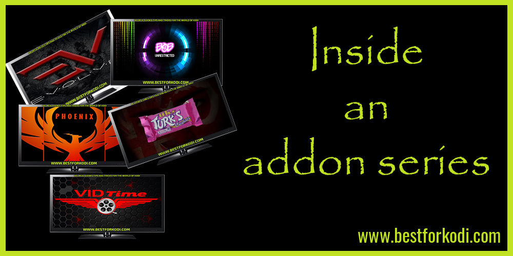 Inside Evolve kodi Addon Great Developers Kraken