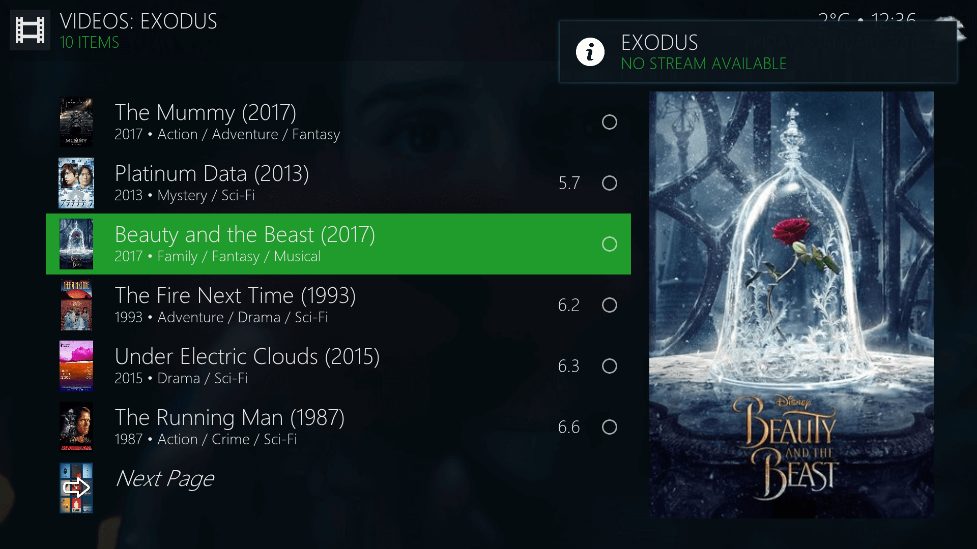 Exodus No Streams Fix for Kodi - Best for Kodi