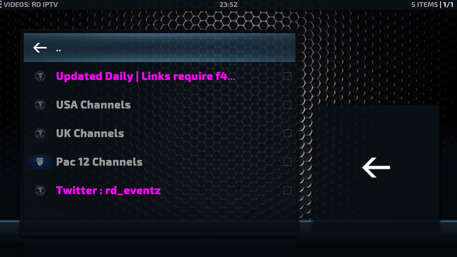 How to install RD IPTV Kodi Addon Repo -From RD Eventz