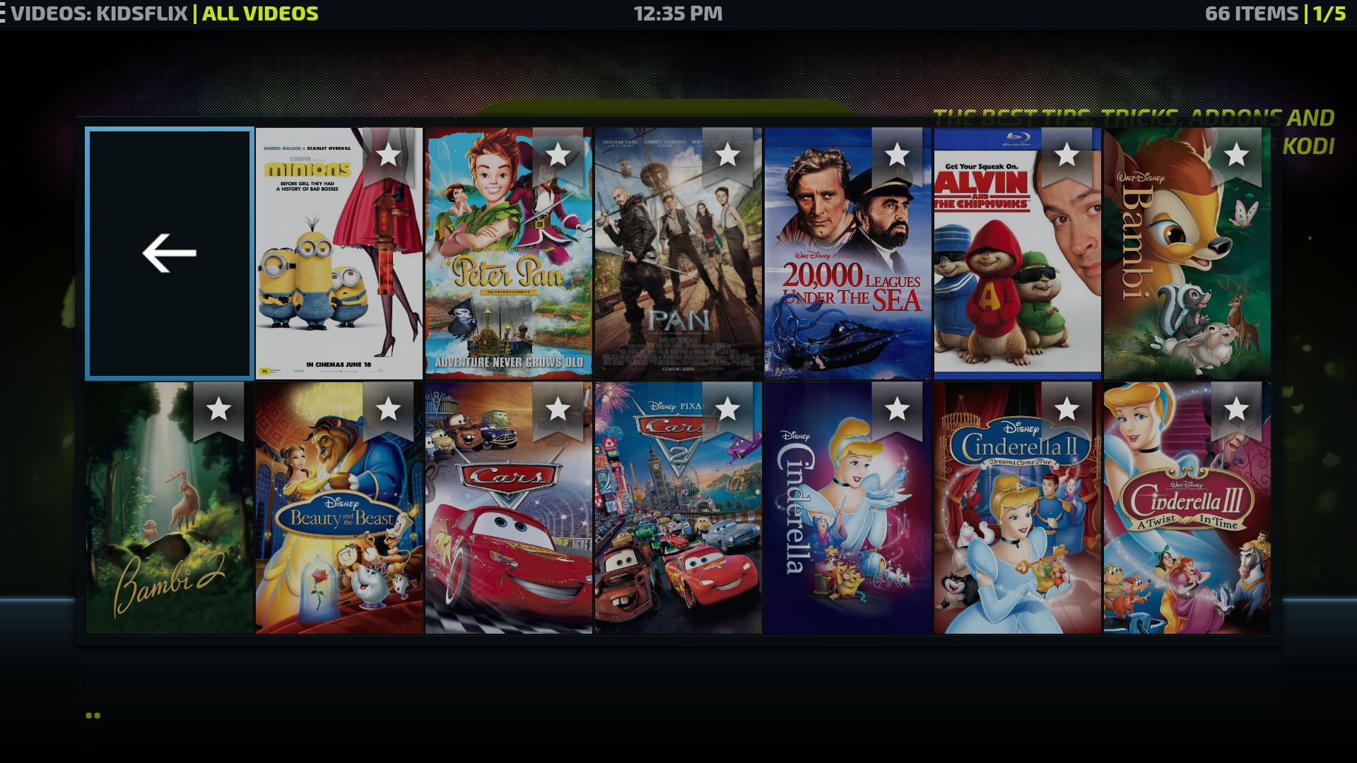 how to add kidsflix to kodi