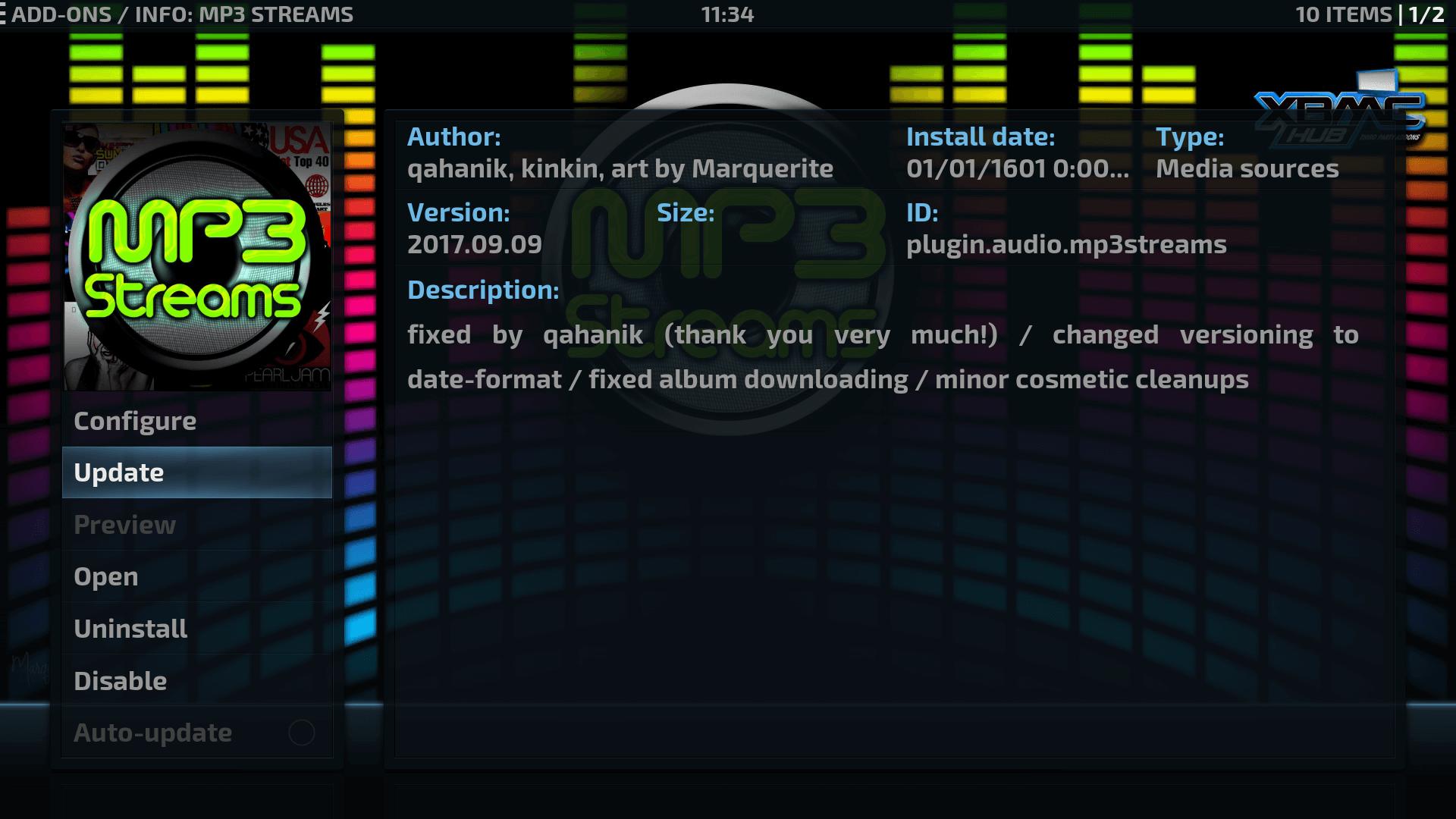Guide Install MP3 Streams Kodi Addon Repo