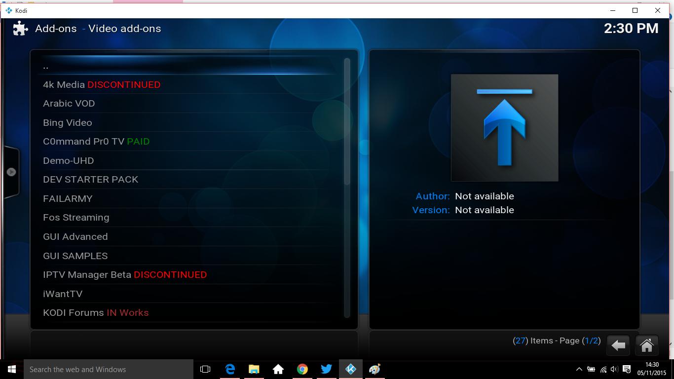 settings install 8