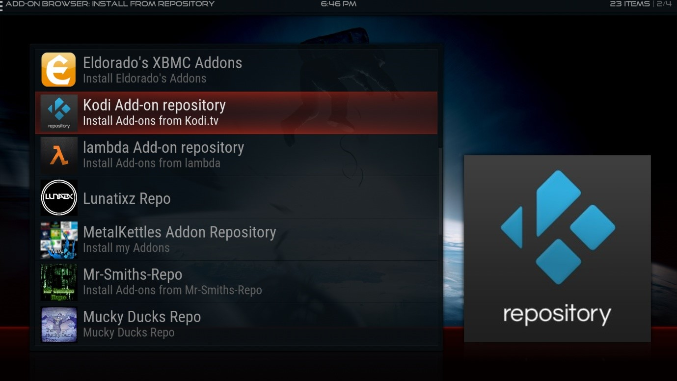 Creating your Own Kodi build Part Nine