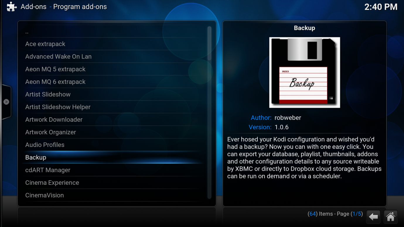 how to clean kodi prior to installing a fresh build