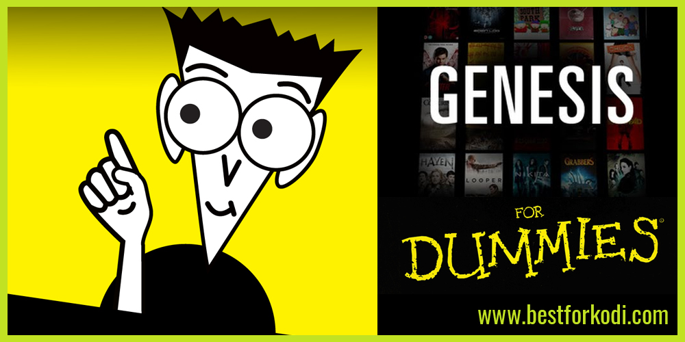 GENESIS FOR DUMMIES