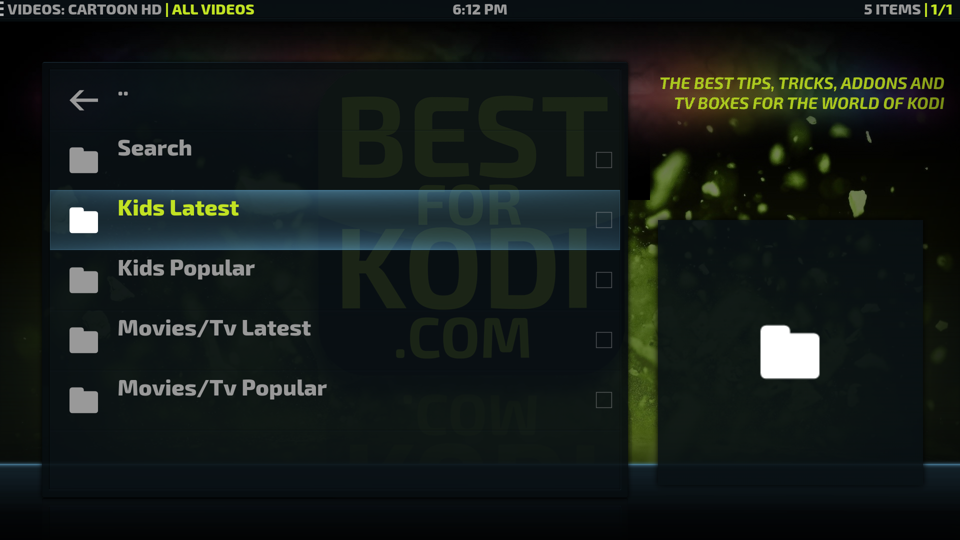 how to add favourites on kodi