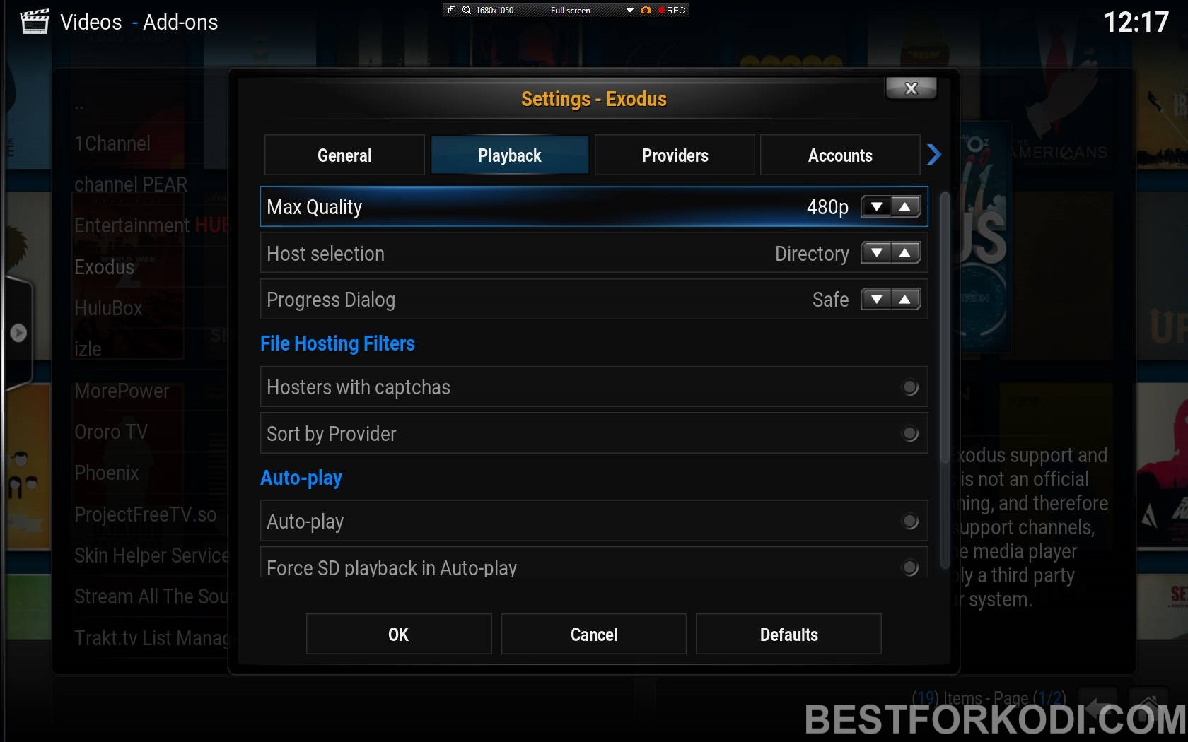how to connect the internet to kodi