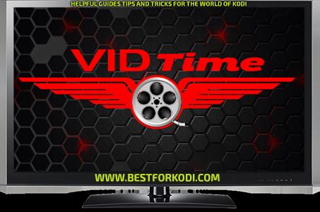 Install VidTime Kodi addon Kodi Repo
