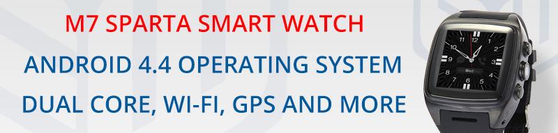M7 SPARTA SMART WATCH