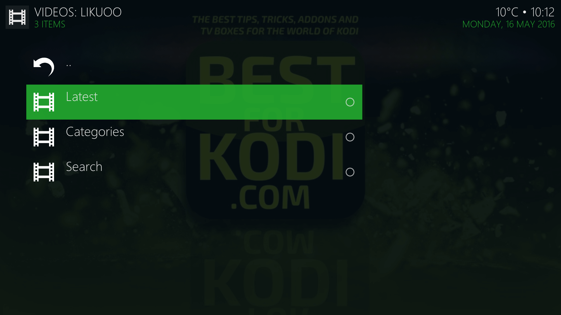 Install Likuoo XXX Adult Kodi Addon