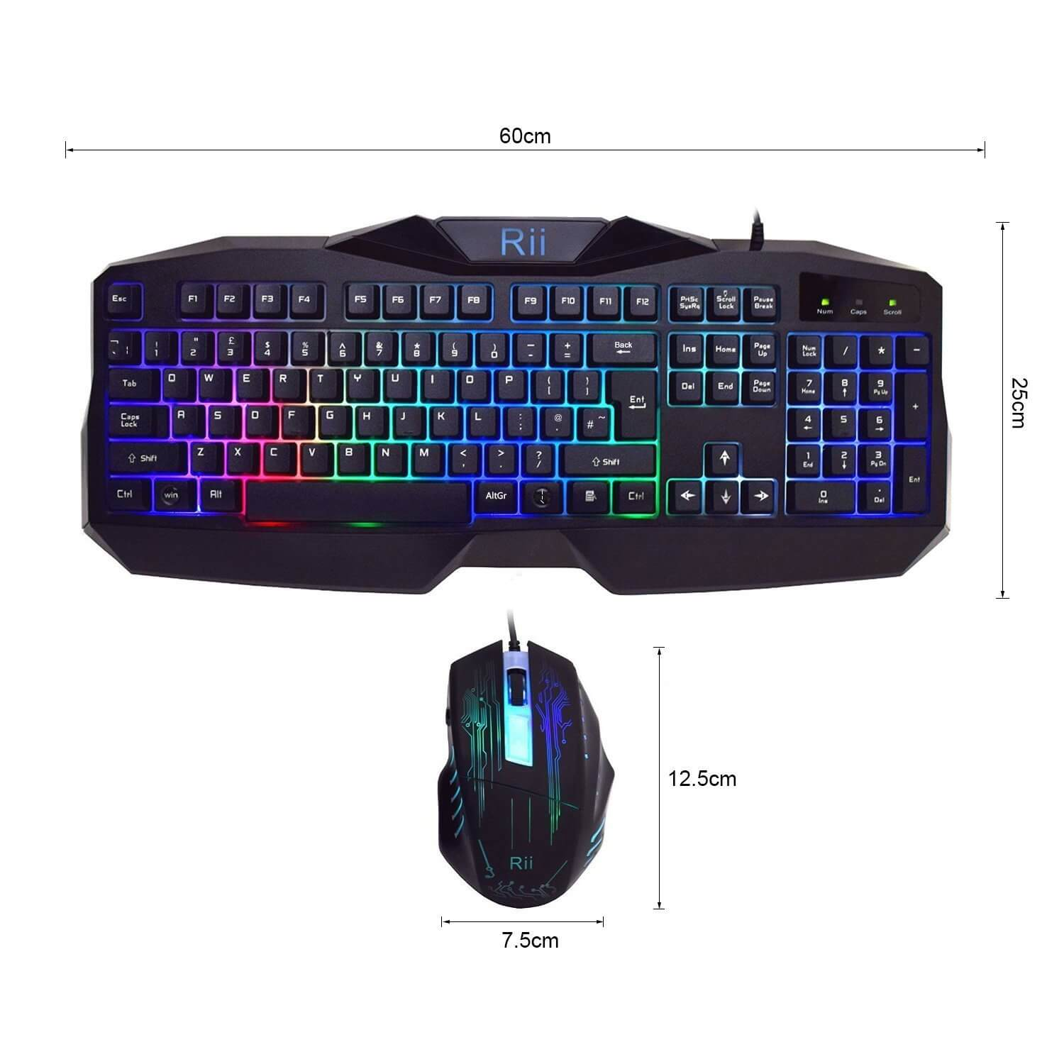 Rii Backlit Gaming Keyboard and Mouse Review