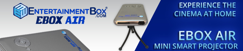 EBOX AIR MINI SMART PROJECTOR
