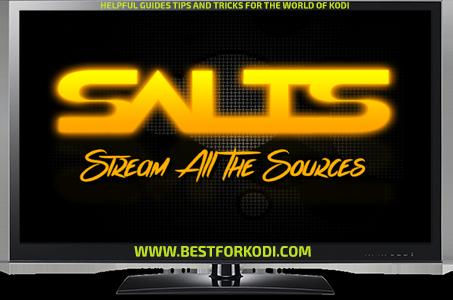 Install Stream all the Sources S A L T S Kodi Addon