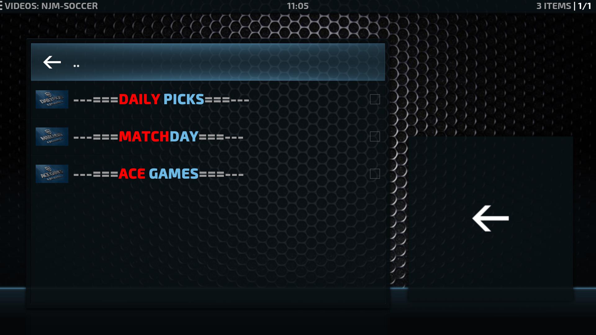 Install NJM Soccer Kodi Addon Repo - Sporting Streams