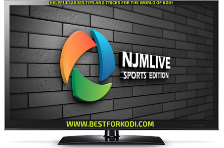 How to install NJM Live Kodi Addon