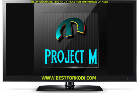 Install Project M Kodi addon Repo