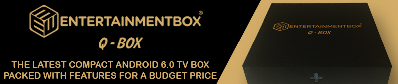 Q BOX ANDROID 6 TV BOX ENTERTAINMENTBOX EBOX