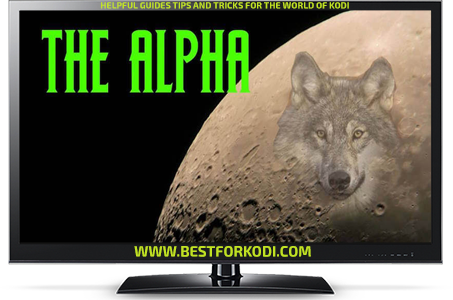 Install The Alpha Addon Kodi