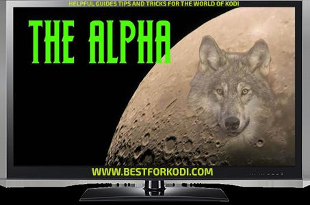 Install The Alpha Addon Kodi