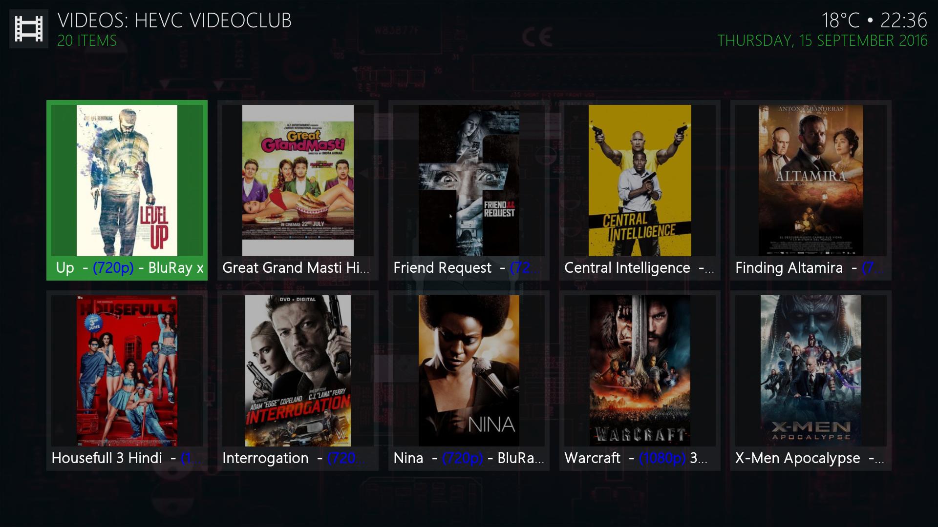 Install Hevc Video Club Kodi Addon
