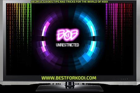 Guide Install Bob unrestricted Kodi Addon Repo Bob addon