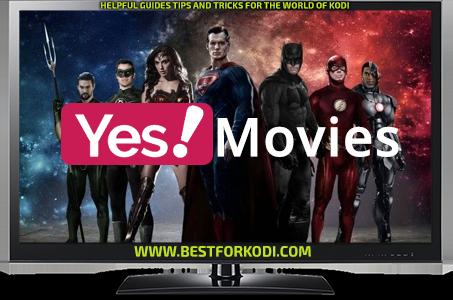 Guide Install Yes Movies Kodi Addon Repo
