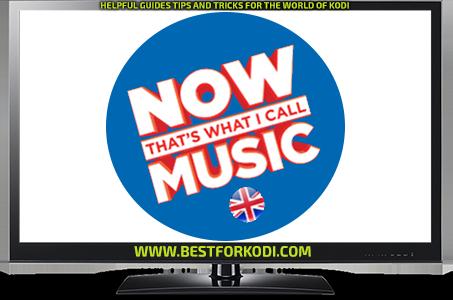 Install Now Music Kodi addon