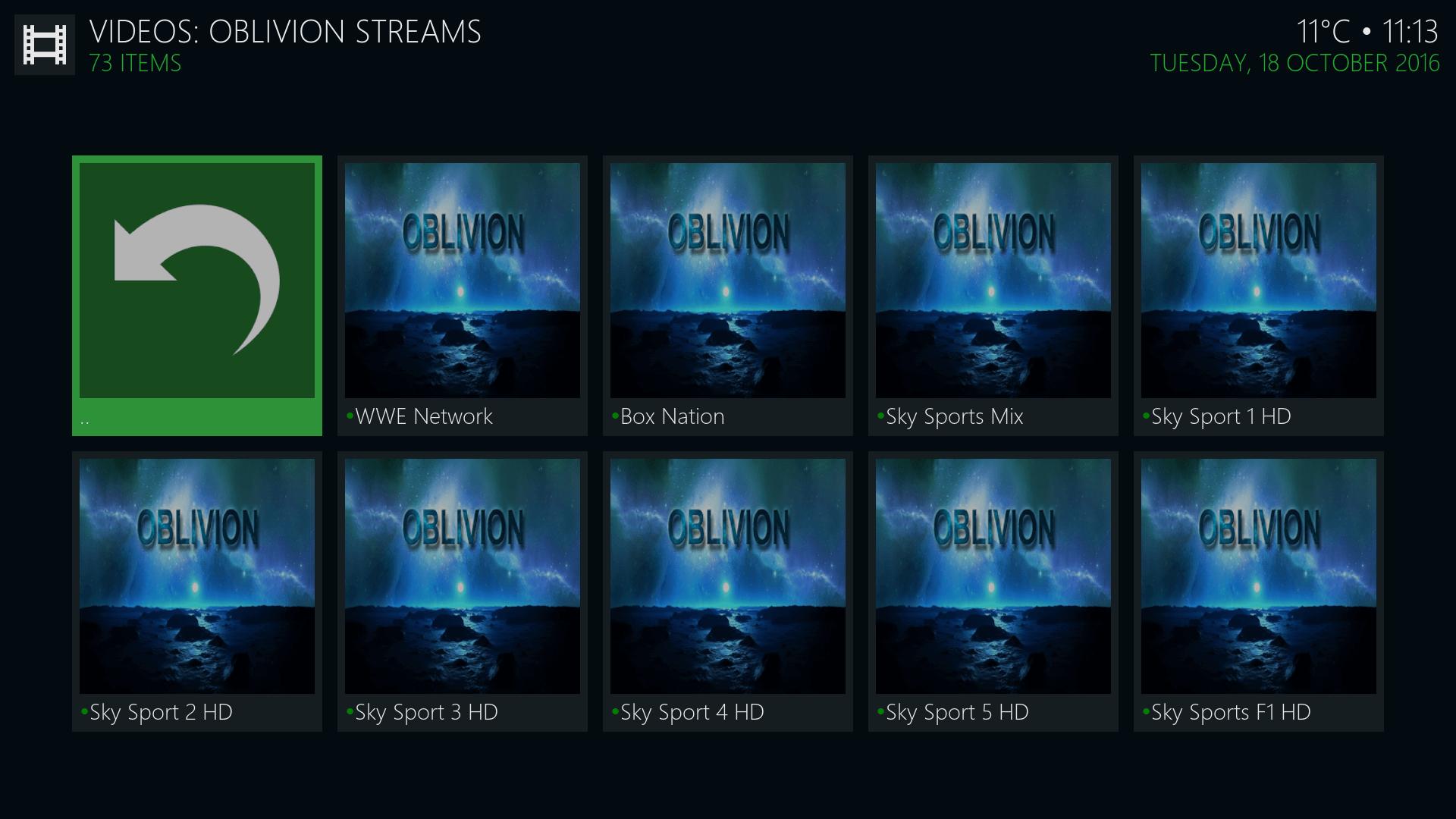 Guide Install Oblivion Streams Kodi Addon Repo
