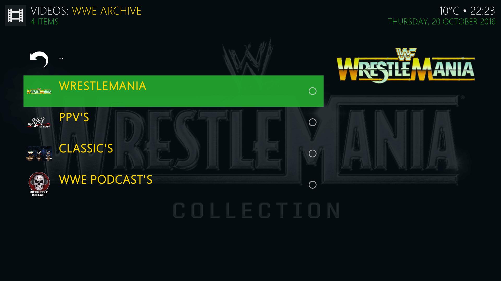 Guide Install WWE Archive Kodi Addon Repo