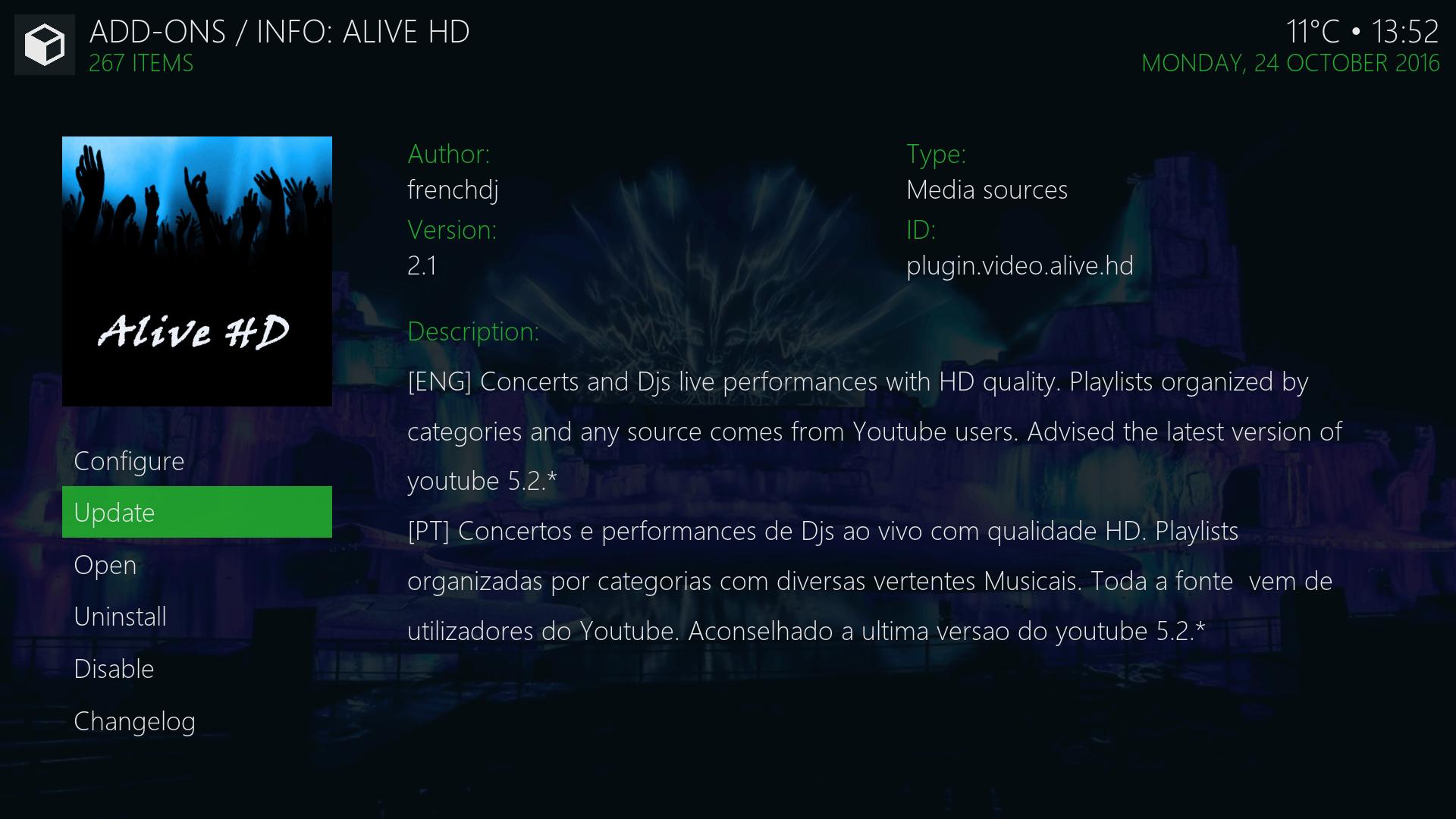 Install Guide Alive HD Kodi Addon Repo