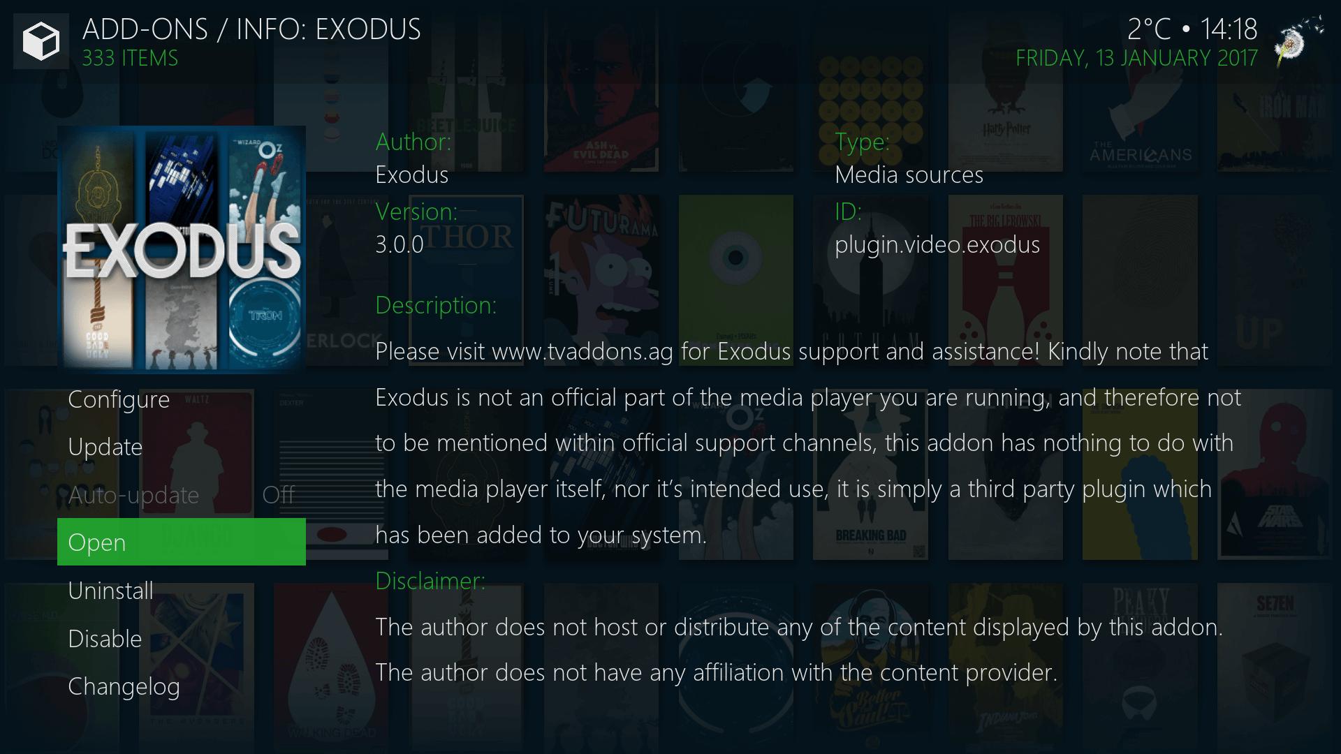 kodi app similar to exodus