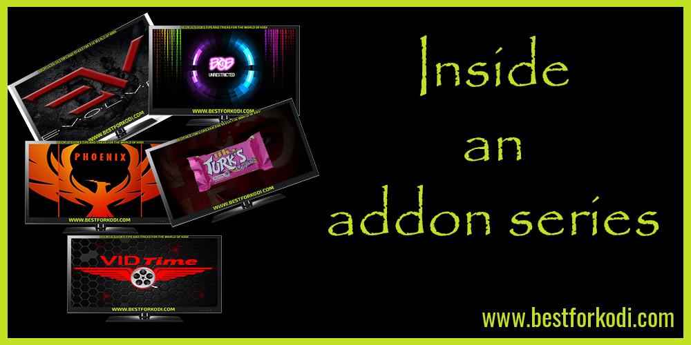 Inside Evolve kodi Addon Great Developers Goliath