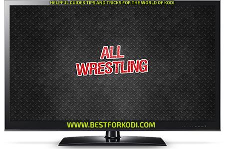 Guide Install All Wrestling addon Kodi Repo