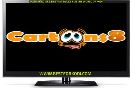 How to install Cartoons 8 kodi addon Repo