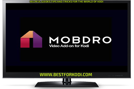 How to install the Mobdro Kodi Addon