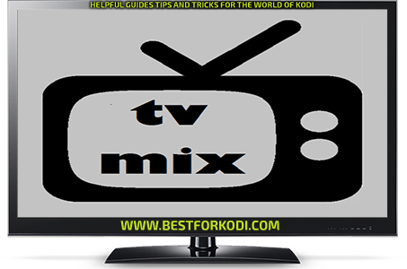 Install Tv Mix Kodi addon