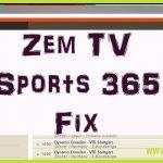 Zem Tv Sports 365 Pairing Fix Kodi – Streams cutting out after 5/10 secs?