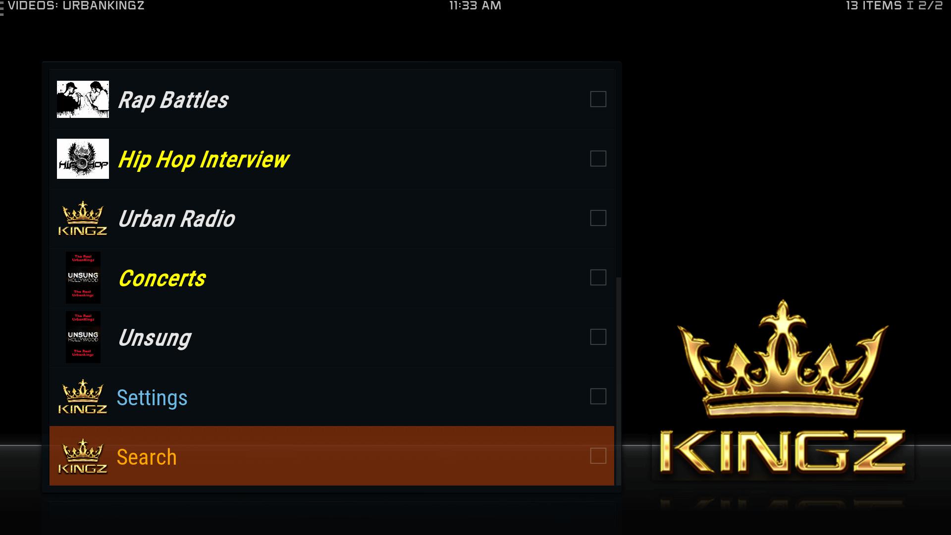 Guide Install The Real UrbanKingz Kodi Addon Repo