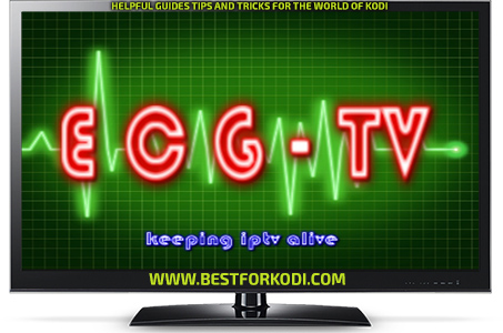 Guide Install ECG Tv Kodi Repo - Free IPTV Addon