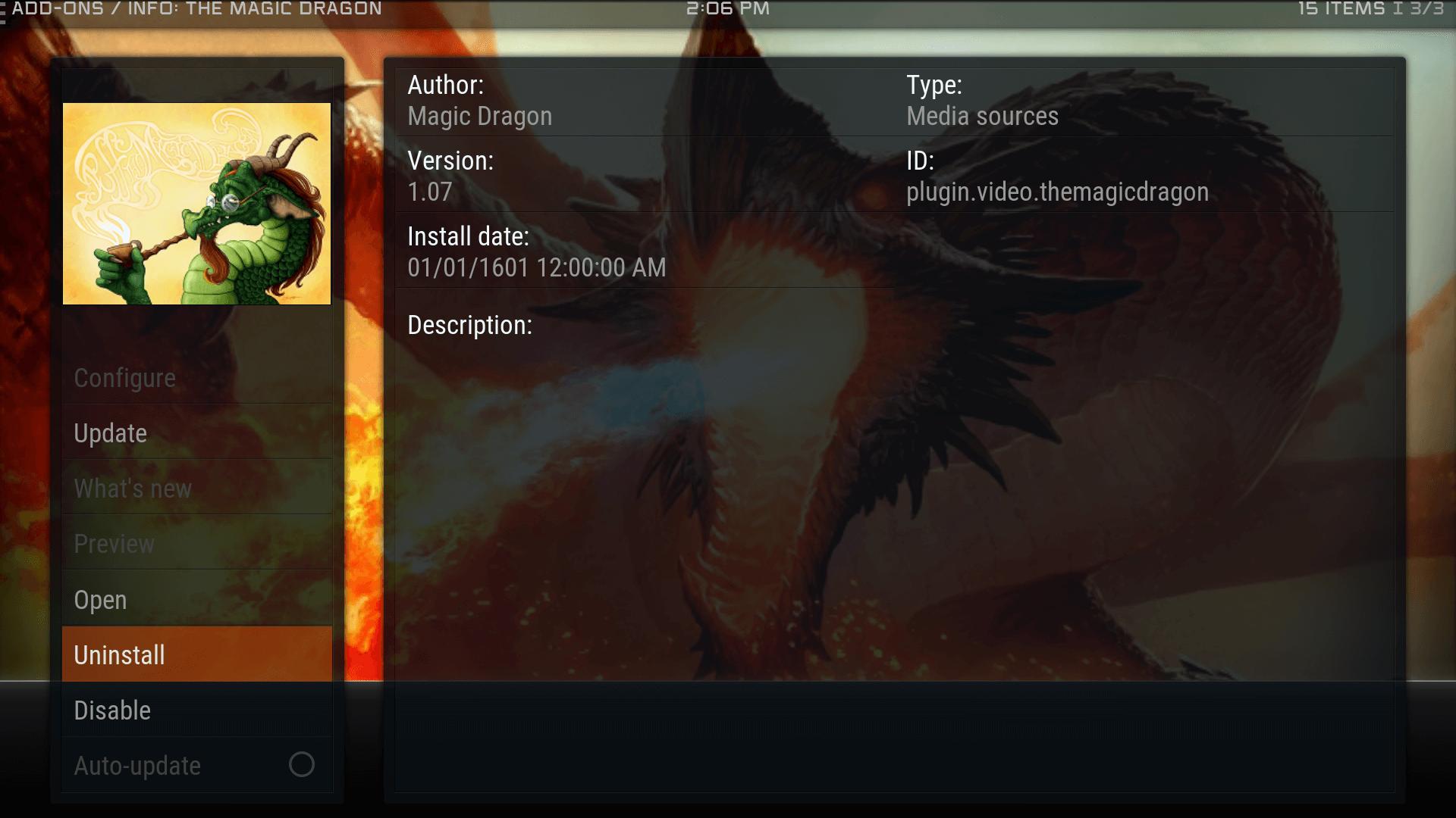 Guide Install The Magic Dragon Kodi Addon Repo