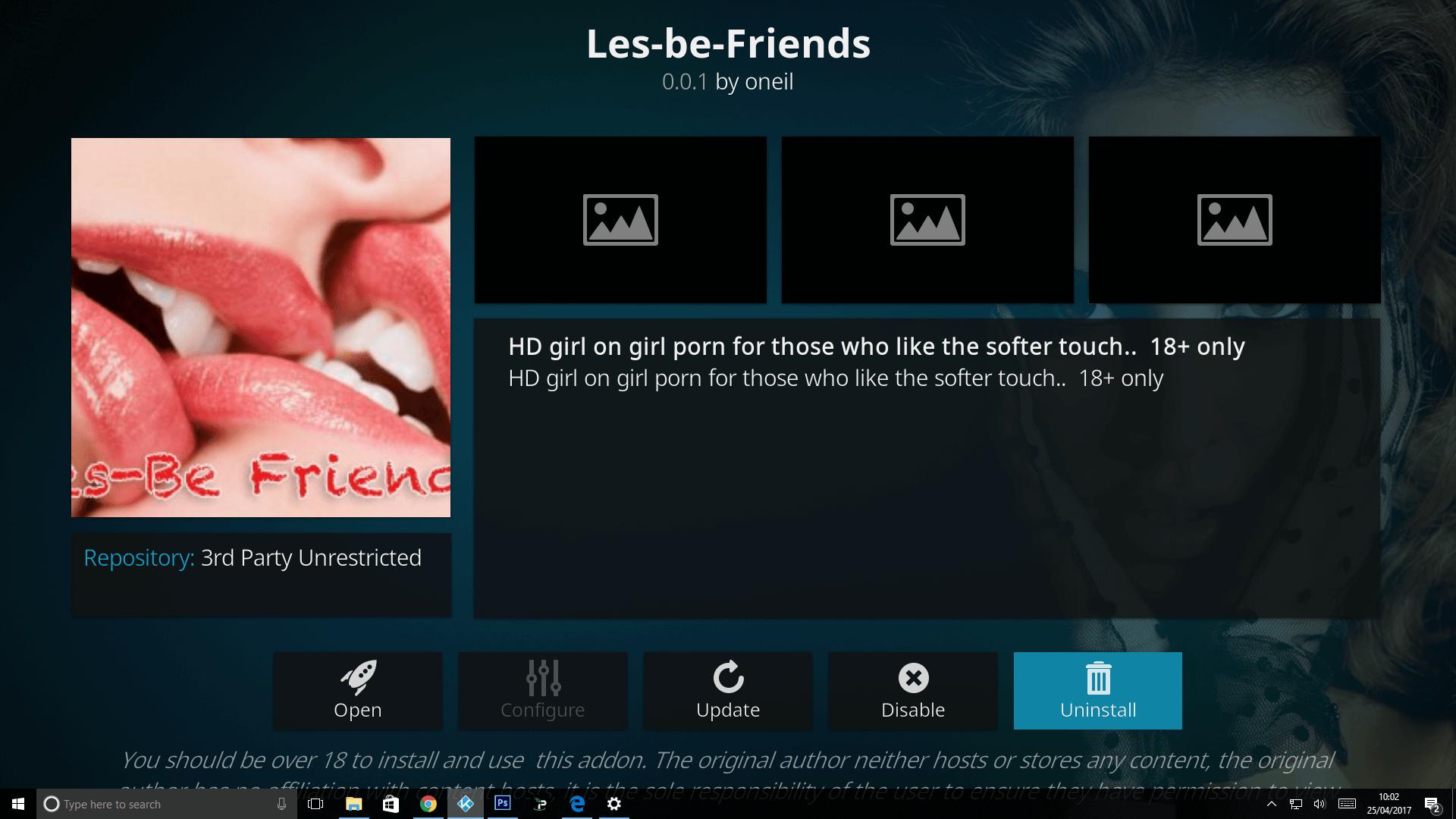 Install Les Be Friends Kodi Adult Addon -XXX Addon