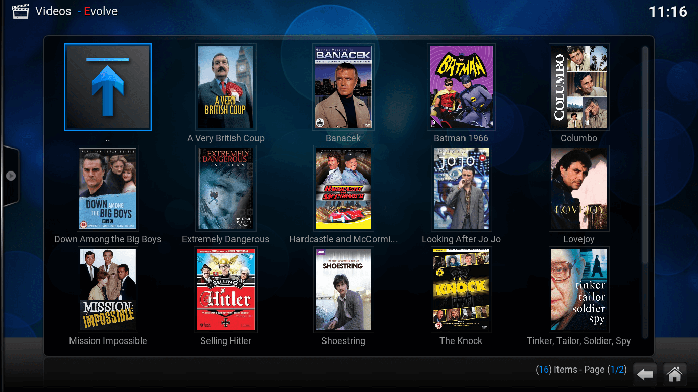 how to add tv shows in tv section on kodi
